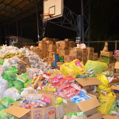 Preparação de pacotes de bens essenciais