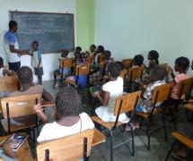 Moçambique: escolinha Santo Inácio ganha novas cores