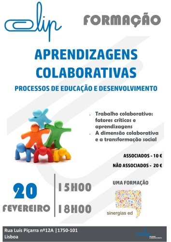 Workshop Aprendizagens Colaborativas