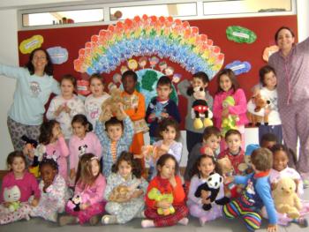 Comemoração do Dia Universal dos Direitos da Infância no Jardim de Infância Fernando de Bulhões, em 2013.