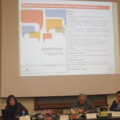 Revista Sinergias apresentada na Reitoria da Universidade do Porto