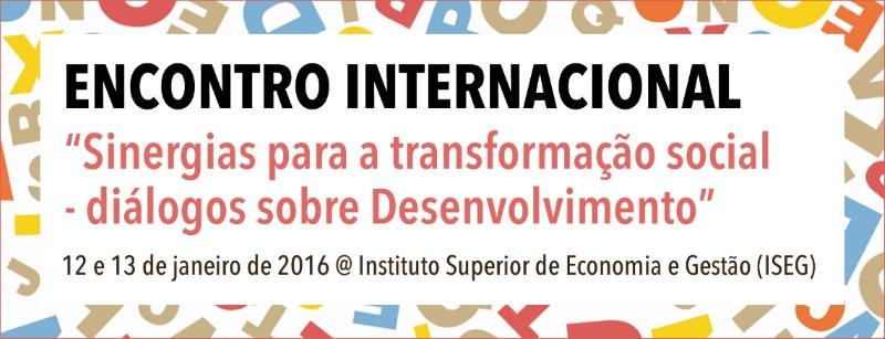 Encontro Internacional Sinergias banner topo not