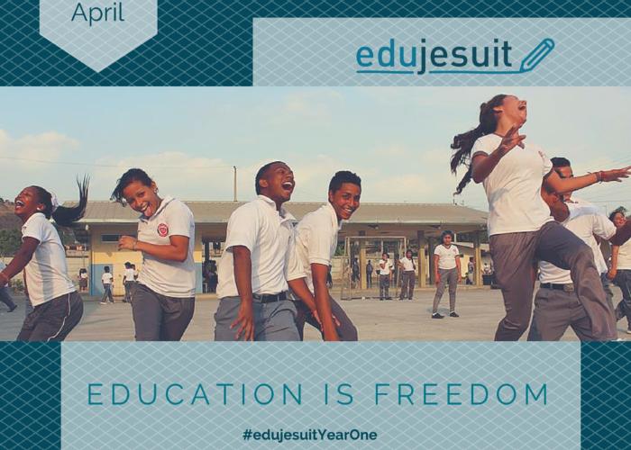 Educação é liberdade - 1 ano de Edujesuit