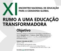 XI Encontro Nacional de Educação para a Cidadania Global