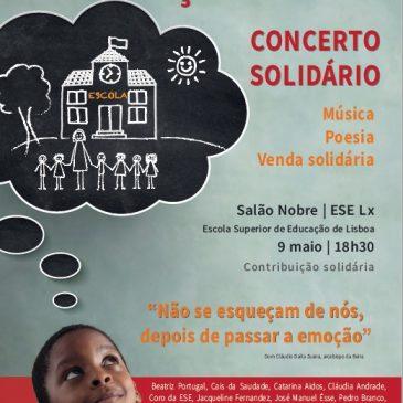"""Concerto Solidário """"Somos Moçambique"""""""
