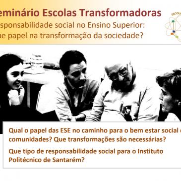 Seminário Escolas Transformadoras em Santarém