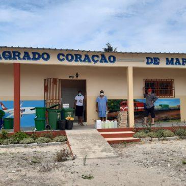 Projeto Somos Moçambique entrega kits de higiene e segurança em jardins de infância