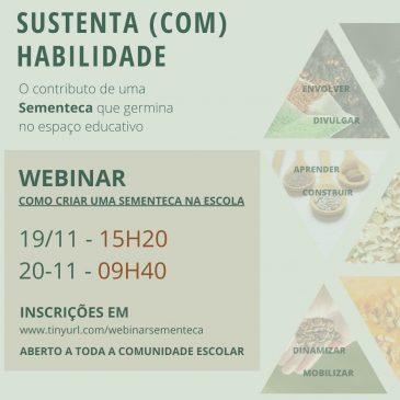 """Projeto 'Escola Ser Vivo' promove webinar sobre """"Como criar uma sementeca na escola"""""""