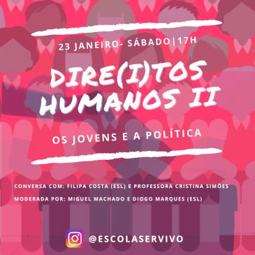 Dire(i)tos Humanos II – os Jovens e a Política