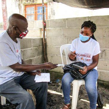 Somos Moçambique aplica inquéritos para caracterizar comunidade do Bairro de Manga Mascarenhas