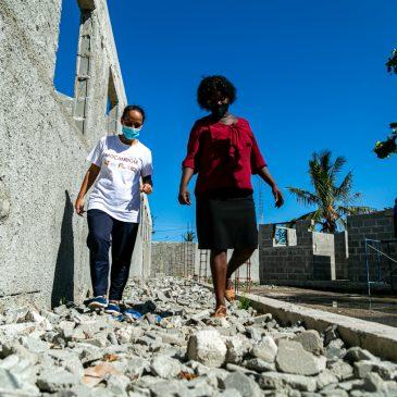 2 anos depois dos ciclones Idai e Kenneth os projetos selecionados pelo Camões I.P. permanecem no terreno e atuam na reconstrução de Moçambique